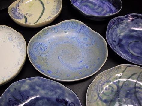 Platos de cerámica (taller 1 y 2)
